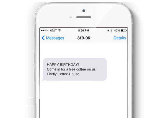Automated Birthday Offers